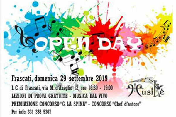 open day associazione musicale roma